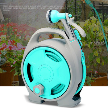 Spray Nozzle Cleaning High Pressure With Handle Car Wash Flat Watering Flexible Hose Pipe Garden Outdoor Turntable#L25