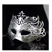 Vintage Party Mask Venetian Masquerade Half Face Masks Halloween Costume Carnival Cosplay eva half face rabbit cosplay halloween masquerade masks halloween bunny adult party mask new year mask cosplay costume supplies