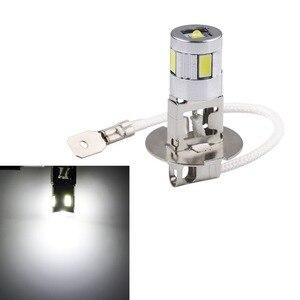 Image 3 - H3 LED ampuller araba sis lambası yüksek güç lamba 5630 SMD otomatik sürüş Led ampuller araba işık kaynağı park 12V 6000K kafa lambaları