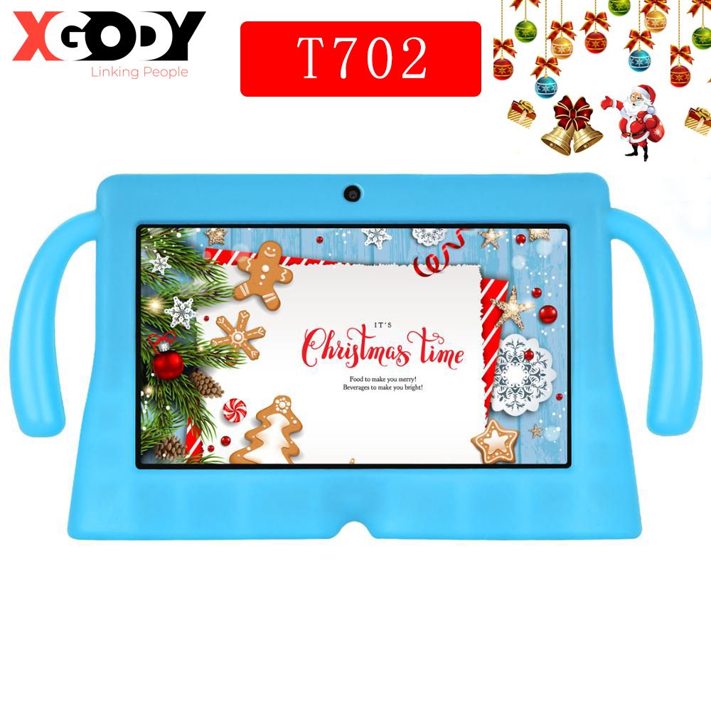 Christmas Tablet For Children Android 8.0 Octahedral Core 1 GB RAM 16 GB 3200 Ma WiFi 9 Inch Tablet For Children Education