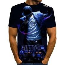 2020 мужских футболок музыка dj печати 3d футболка для мужчин/женщин