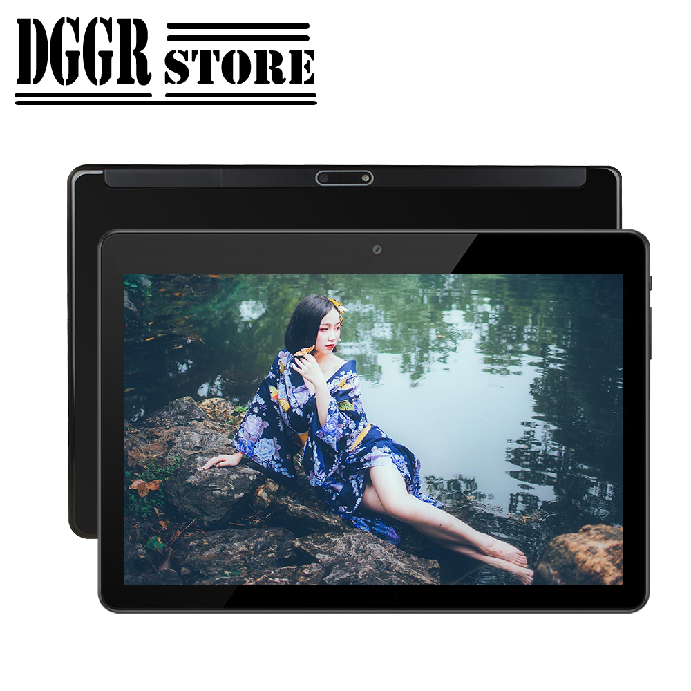 BOBARRY Sided Super Toughened Glass Screen Tablet 10 Inch IPS Android Tablet Supports Google Store 3G Phone SIM WiFi 32G 64G