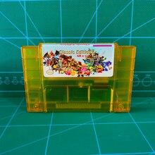 Super 68 w 1 zapisz wkład pliku gry żniwa księżyc Goof oddział ostateczna gra Fansty II III IV Megaman X IV Terranigma Zeldaed Link