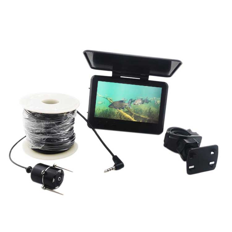 4.3 Inch Underwater Fish Finder <font><b>Fishing</b></font> <font><b>Camera</b></font> <font><b>Waterproof</b></font> Real-Time IR Night Vision Fishfinder with 30M Cable image