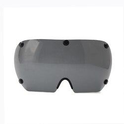 Kask rowerowy obiektyw Triathlon tt kask rowerowy obiektyw droga Aero kask rowerowy obiektyw 3 kolory gogle Visor Helmts akcesoria