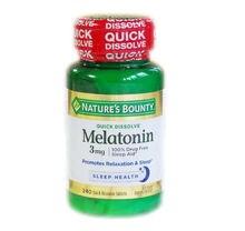 Бесплатная доставка мелатонин 3 мг 240 шт