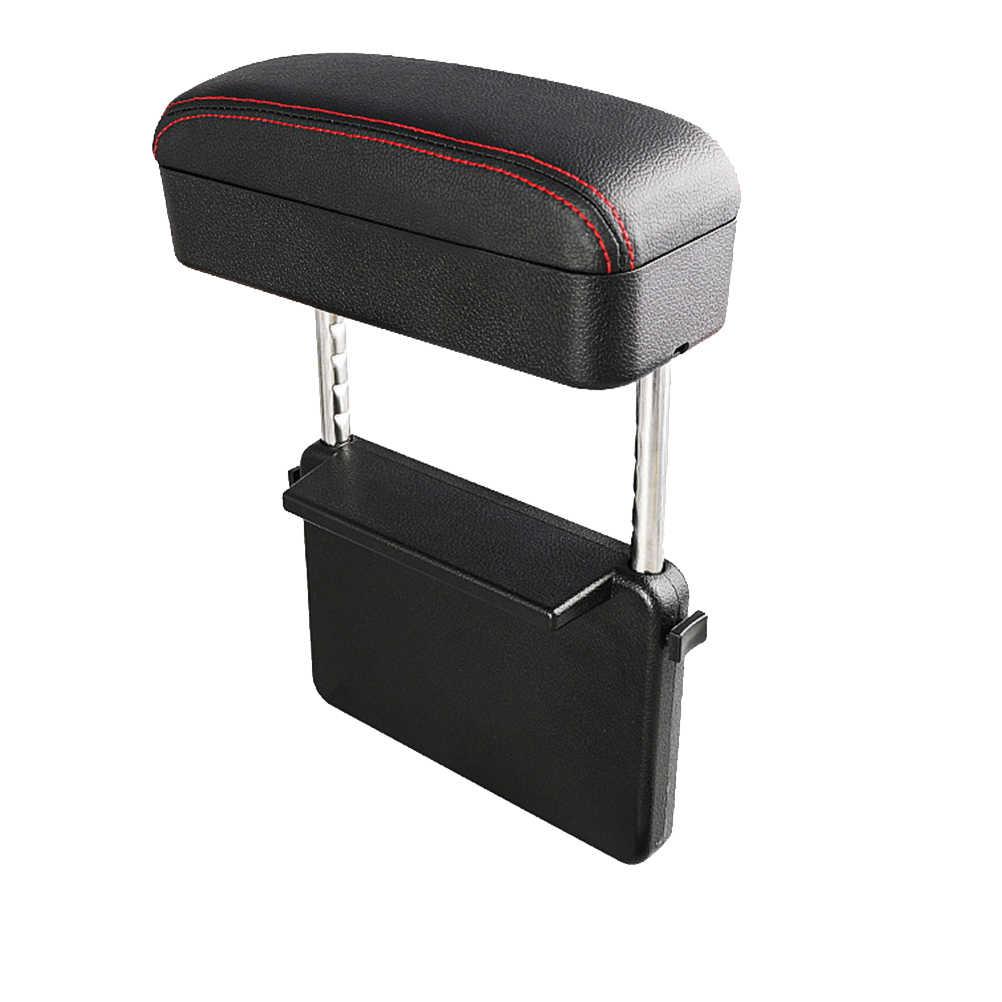 Universal Auto Montiert Armlehne Box Zentralen Box Ellenbogen Unterstützung Pad Auto Center Konsole Armlehnen für Auto Sitz Lücke Lagerung Boxen a30