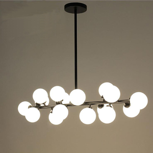 Image 2 - Mordern Led תליון אורות מטבח אוכל חדר נורדי תעשייתי תליון מנורת בר קפה Luminaire תליית גופי תאורה