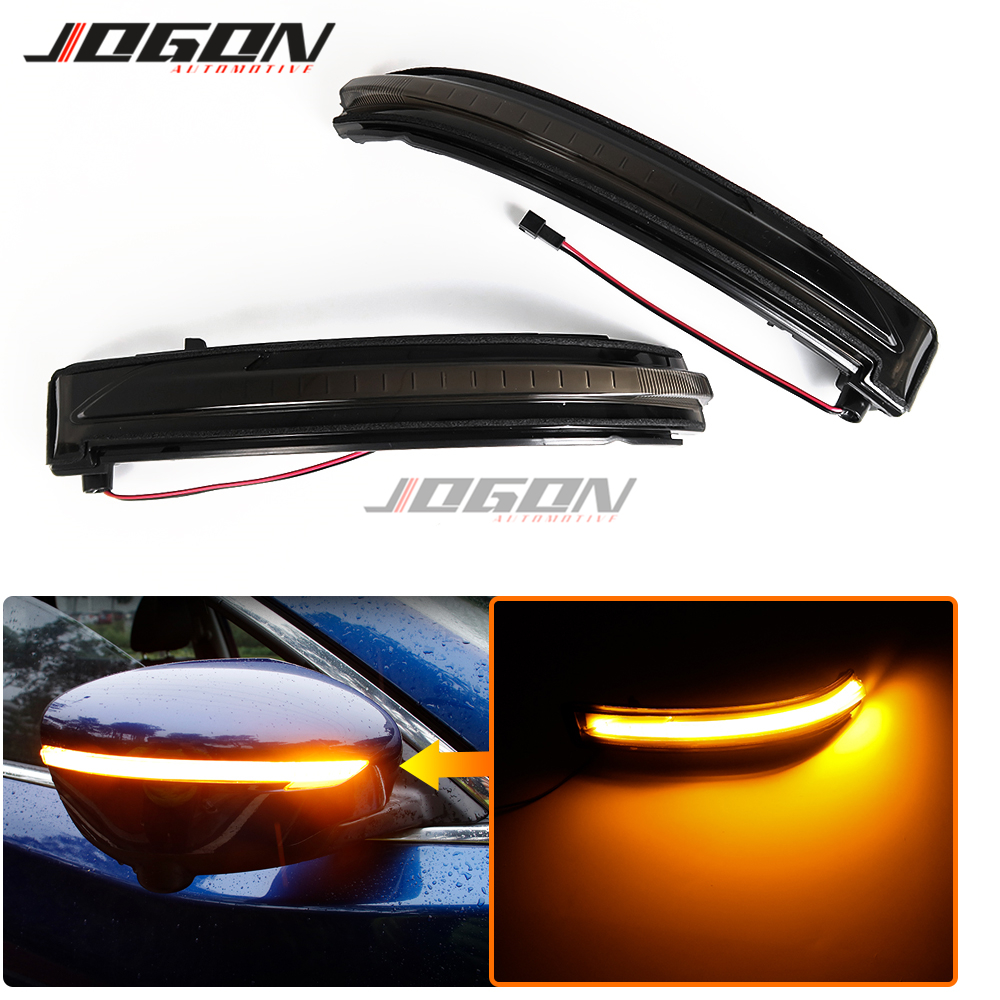 LED Side Mirror Sequential Dynamic Turn Signal Light For Nissan Murano 2015-2019