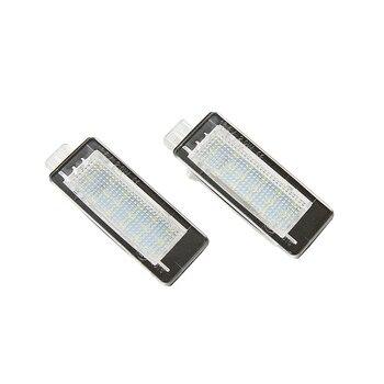 цена на 1xpair Canbus LED License Number Plate Light For Renault Duster Logan MCV White (For: Renault Scenic)(CA325)