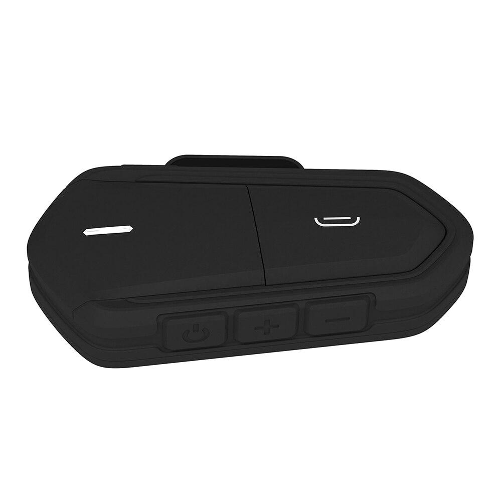Waterproof Hands Free Stereo Wireless Helmet Headset Motorcycle Universal Earphone Music Bluetooth FM Radio Long Standby