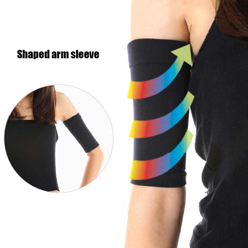 2PC FASHION LADIES SLIMMING WEIGHT LOSS ARM SHAPER FAT BUSTER OFF WRAP BELT BAND