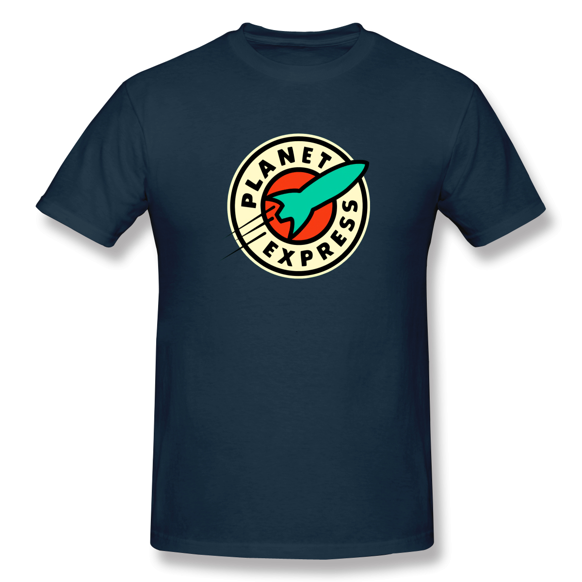 Planet Expres Future Men's Basic Short Sleeve T-Shirt European Size