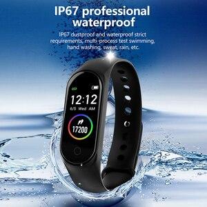 Image 3 - سوار معصم ذكي من COLMI M4S سوار مقاوم للماء للياقة البدنية مراقب معدل ضربات القلب أثناء النوم جهاز تتبع النشاط الرياضي للهواتف التي تعمل بنظام الأندرويد وios