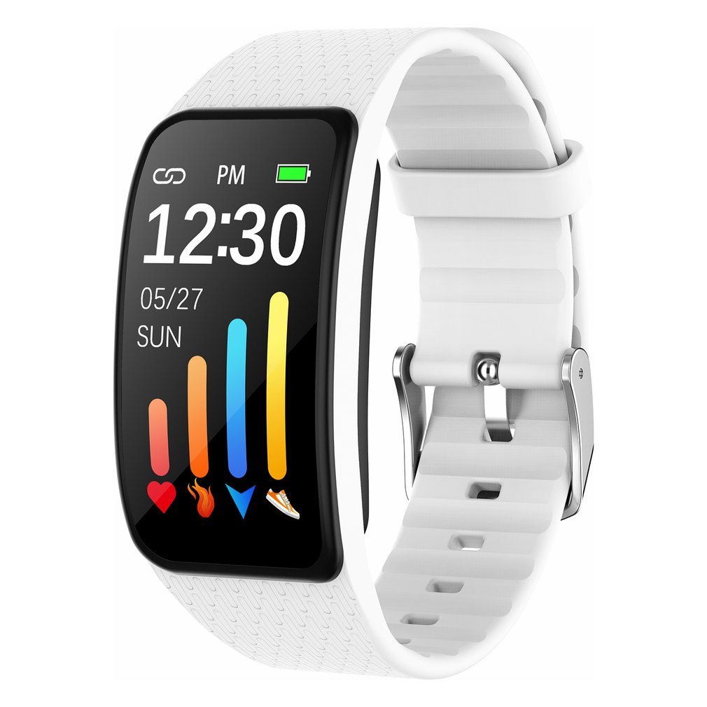 Sports Smart Watch Thermometer Sleep Heart Rate Test Motion Monitoring Calorie Waterproof Watch For Men And Women