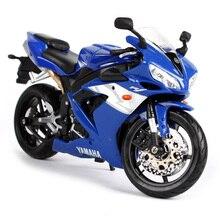 Maisto 1/12 Yamaha YZF R1 YZF-R1 Motorcycle Motorbike Diecast Display Model Toy For Kids Boys Girls стоимость