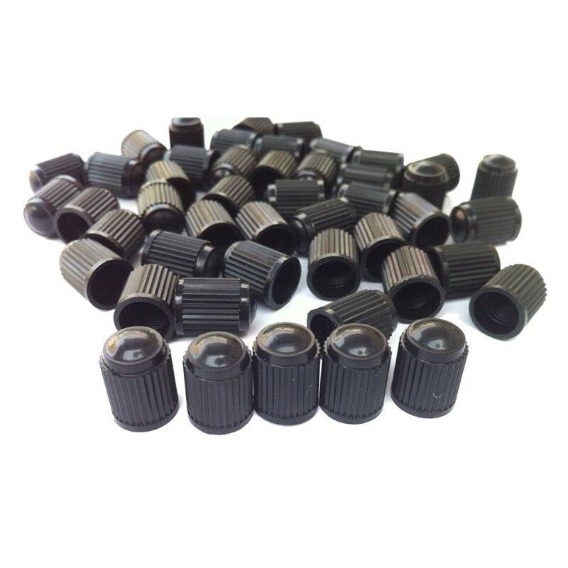 Capuchons de Valve d'air | 100 pièces, tige de roue de pneu Tubeless de voiture, bouchons de Valve de pneu de voiture, camion de voiture, vtt capuchons anti-poussière