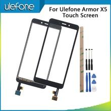 Ulefone için zırh X5 dokunmatik ekran test sayısallaştırıcı Ulefone zırh X5 dokunmatik Panel ön cam sensörü ile araçları ve yapıştırıcı