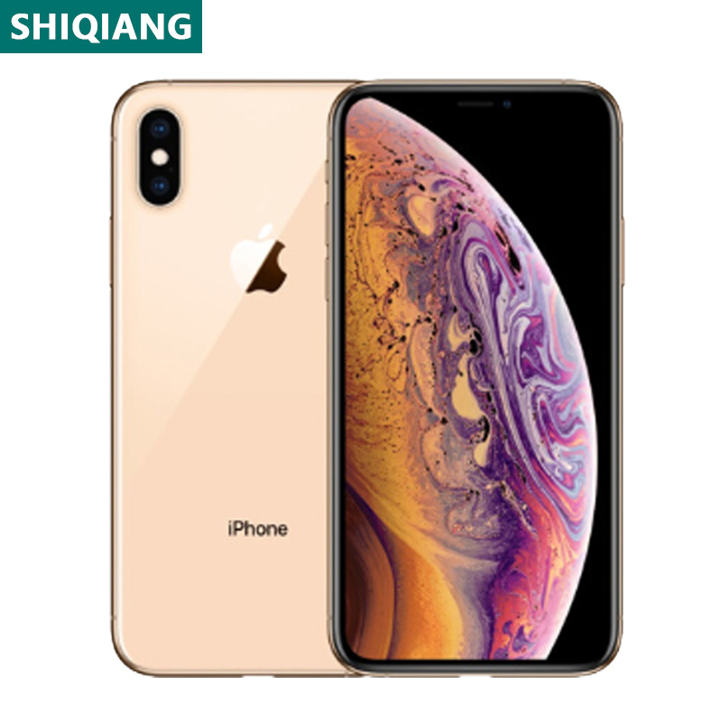 Verwendet Entsperrt Original iPhone XS Max Handys 6,5 zoll Gesicht 4 + 64/256GB Smartphones 7 + 12 MEGAPIXEL 1SIM Karte Handys