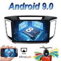 2 din 10.1 inch octa core TDA7851 Android 9.0 Car Radio GPS For Hyundai Creta/IX25 capacitive screen stereo Bluetooth wifi 4g