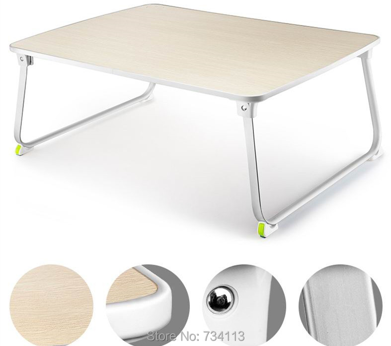 Small Table Best For Laptop Bed Coffee Multifunctional Foldable Mini Table Small Computer Desk Wooden Color Small Table Small Table Table For Laptopsmall Wood Table Aliexpress