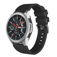 20mm/22mm uhr band für Samsung Galaxy Uhr 46mm/3 45mm-41mm/42mm/aktive 2 Silikon Armband Getriebe S3 Frontier/S2/sport Strap