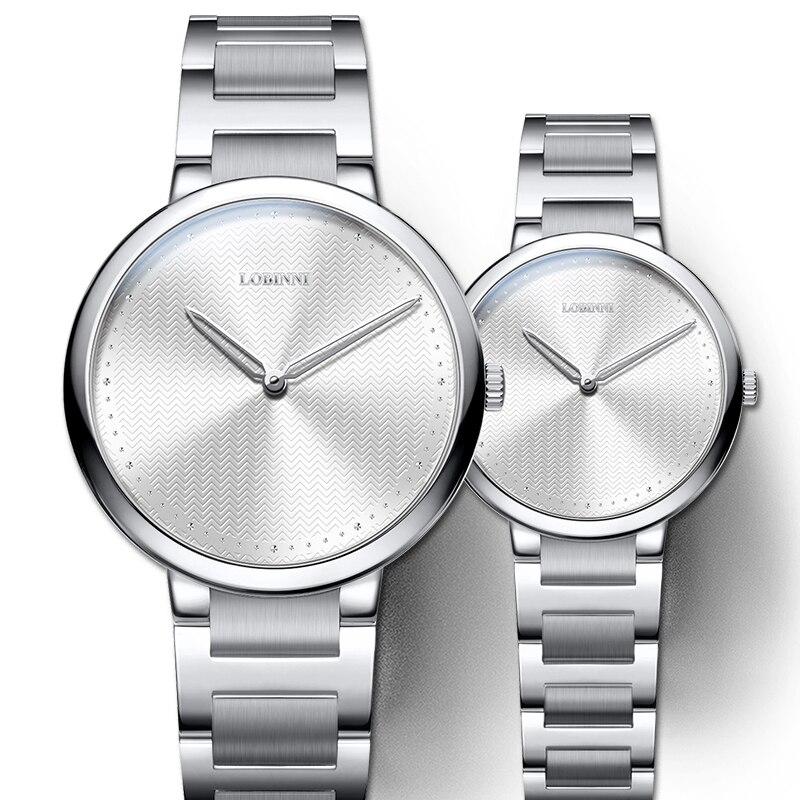 Reloj para amantes de Suiza, reloj Vintage de cuarzo japonés, reloj de pulsera de regalo para hombre y mujer, reloj de pulsera de zafiro inoxidable 5 uds LC / PC hembra a SC / APC macho fibra óptica brida adaptador de acoplamiento envío gratis