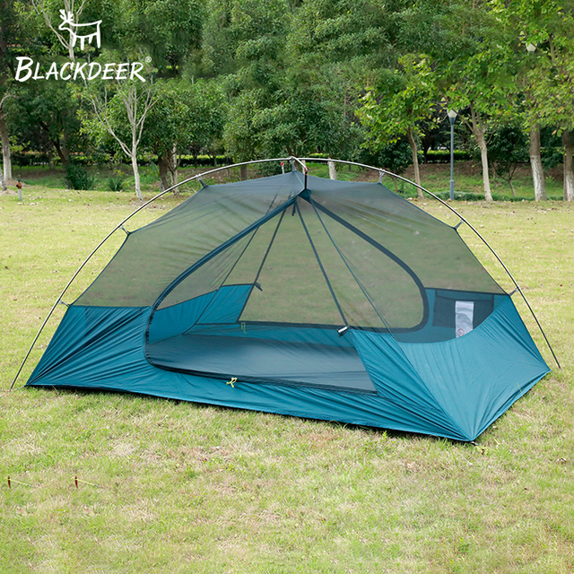 2 Person Upgraded Ultralight Tent 20D Nylon Silicone Coated Fabric Waterproof Tourist Backpack Tents outdoor Camping 1.47 kg 4