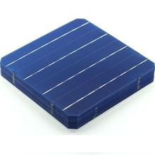 10pcs Mono solar cells Highly efficiency 21.6% A grade top quality diy solar panel solar charger