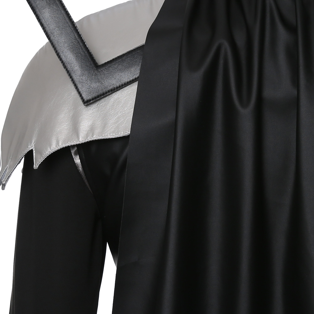 Kingdom Hearts Sora Halloween Cosplay Costume Vampire Skin Outfit Uniform