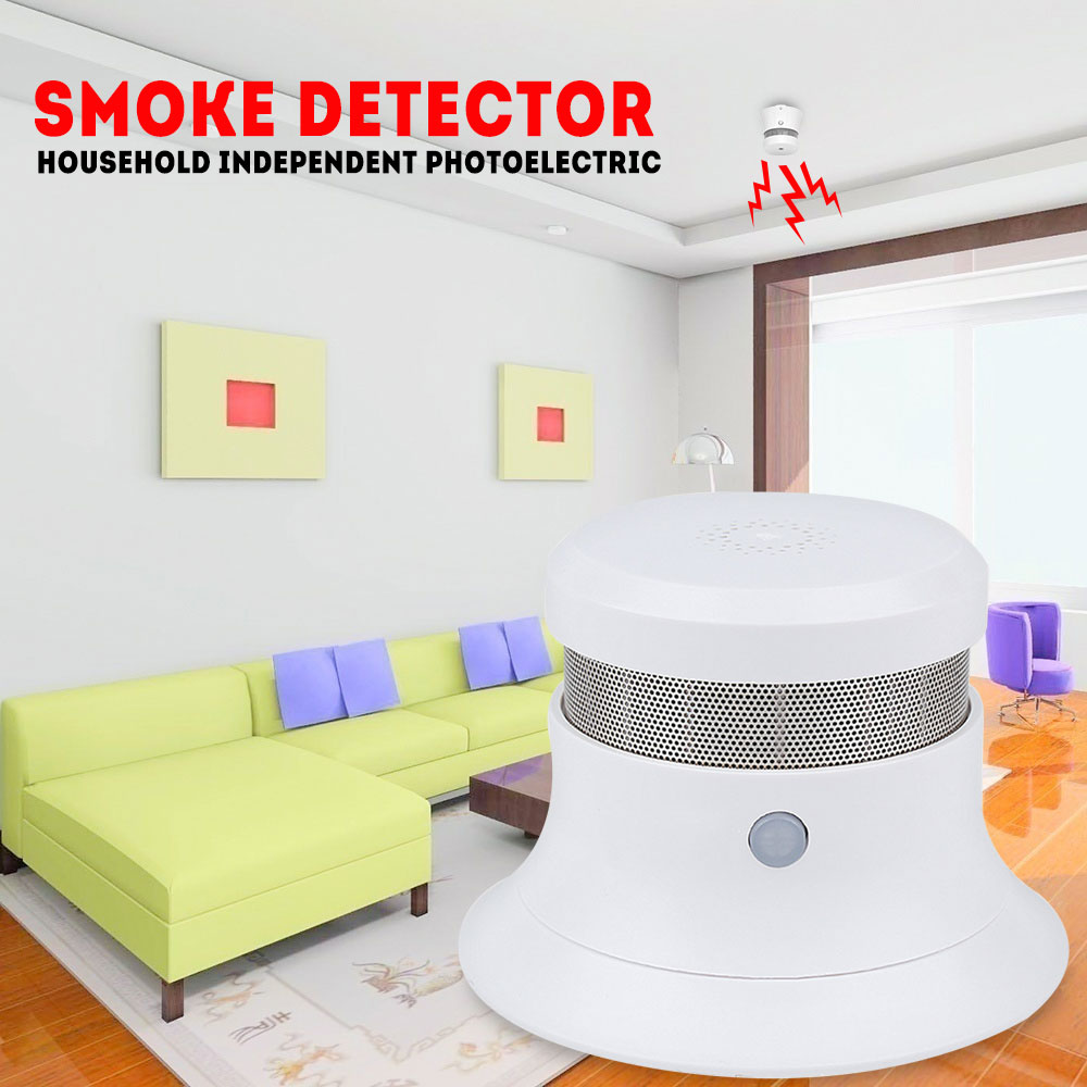 New Smoke Detector & Fire Detector For Fire Detecting & Saving  & Wireless Network Connect Smoke Detector For Safety