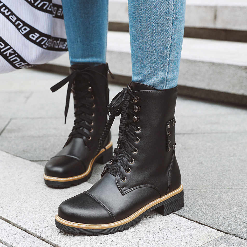 European Style Leather Brown Boots