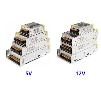 DC 5V/12V/24V/36V LED Strip Module Power Supply TO AC 110V-220V 1A 2A 3A 4A 5A 6A 8A 10A 15A 20A 30A 40A 50A 60A Transformer ac 110v 220v to dc 5v 12v 24v 1a 2a 3a 5a 10a 15a 20a 30a 50a switch power supply driver adapter led strip light