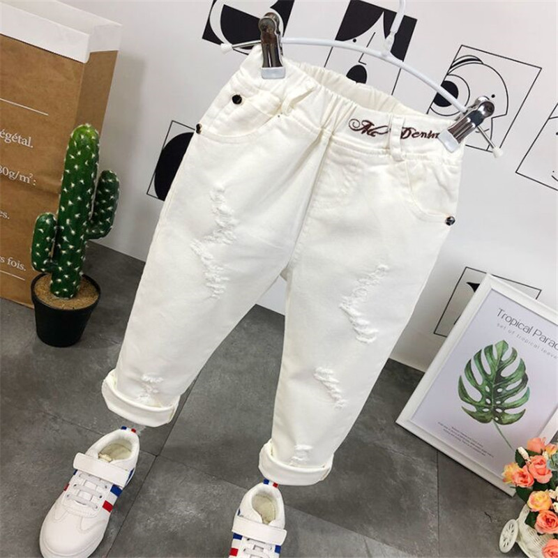 3-8Yrs Childrens Ripped Jeans