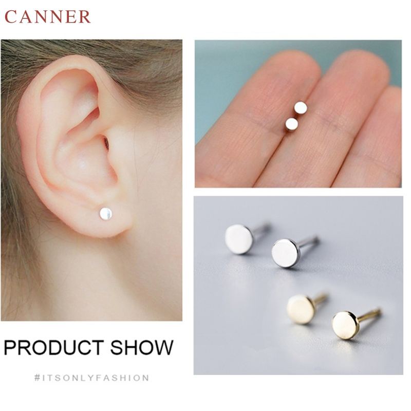 Mens Ladies 925 Sterling Silver Tiny Small Star Stud Earrings Gift 7 mm Diameter