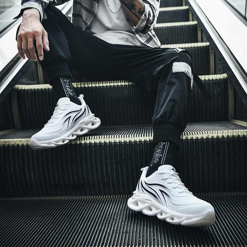 ผู้ชายรองเท้าผ้าใบFlame Seriesรองเท้าฤดูร้อนใหม่Breathable Hollow Damping Careเข่าคุณภาพสูงAthieticรองเท้าผ้าใบ 2020