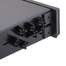 Черный в держатель для приборной панели автомобиля контейнер коробка для хранения один тип Din