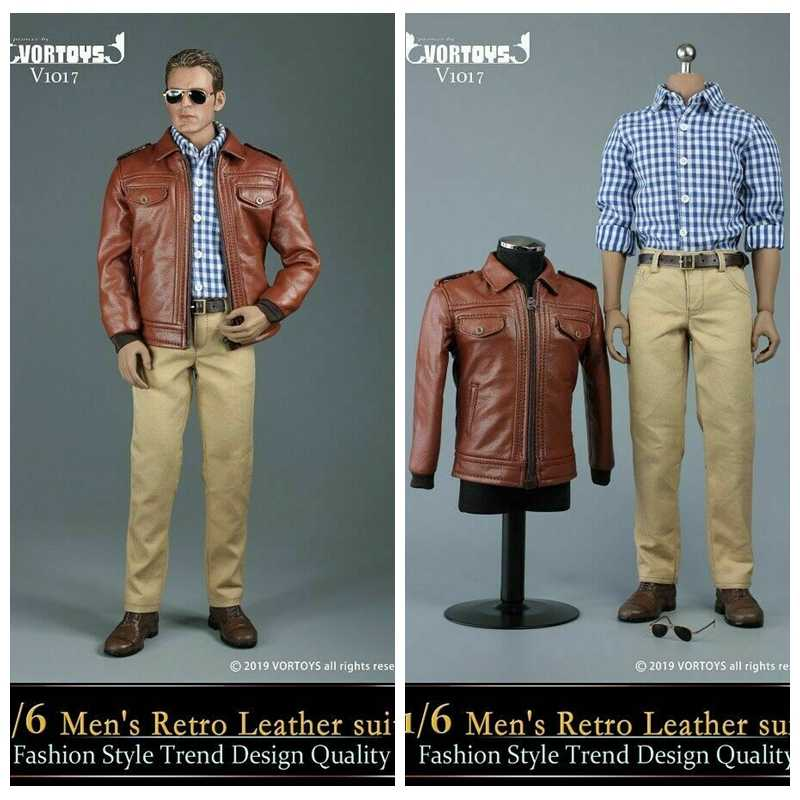 VORTOYS 1//6 V1018 Men/'s Jacket Suit Fashion Style Male Clothing Set Collectible