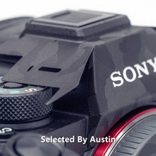 מצלמה עור גלישת מדבקות עבור Sony A9M2 Alpha9 MarkII מגן אנטי שריטה כיסוי