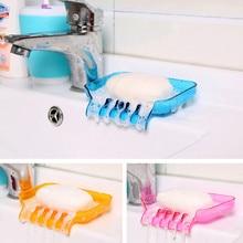Bathroom Waterfall Soaps Dish Storage Plates Tray Drain Creative Bath Tools Accessories Soap