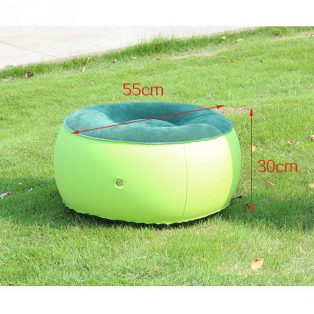 Inflatable Stool Portable Folding Chair Sofa  Chair Family Outdoors