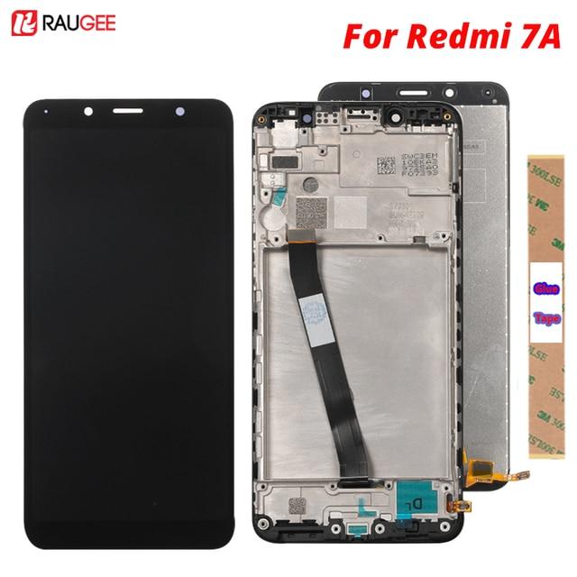 Display Voor xiaomi Redmi 7A Lcd Touch Screen Nieuwe Test Digitizer Vergadering Vervanging Scherm Voor xiaomi Redmi 7A Touch