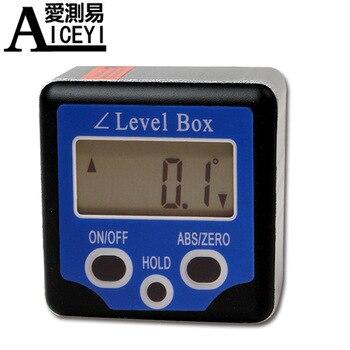 цена на Factory Direct High-Precision Digital Bevel Box with Magnetic Electronic Angle Meter Digital Gradient Meter DP-180B