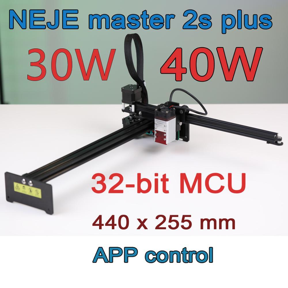 NEJE Master2S Plus 40/30W Professional Large Area Laser Cutting Machine, Laser Engraving Machine,Lightburn,Bluetooth App Control