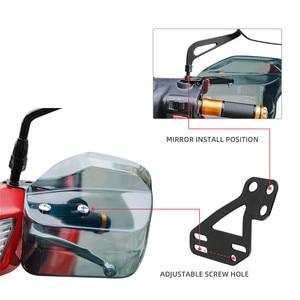 Image 5 - 오토바이 핸드 가드 Handguard 방패 Windproof 오토바이 범용 보호 기어 스쿠터에 대 한 BMW r1200gs에 대 한 폐하 250