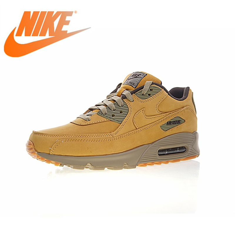 Original Authentic Nike Air Max 90 Senior Men's Running Shoes Sports Outdoor Shoes Winter Linen Wear New Listing 683282-700 image