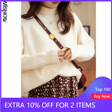 Winter Sweaters Knitted Clothing MISHOW Women Pullover Tops O-Neck Casual for Outdoor