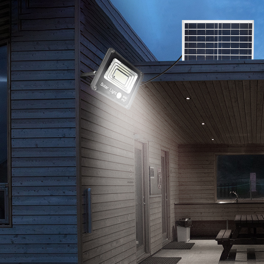 50 w energia solar alimentado lampadas de inundacao led a prova dwaterproof agua inducao do corpo