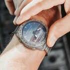 Aço inoxidável relógio de quartzo mergulho militar esporte relógios dos homens mergulho analógico relógio digital masculino do exército altímetro bússola borda norte - 5