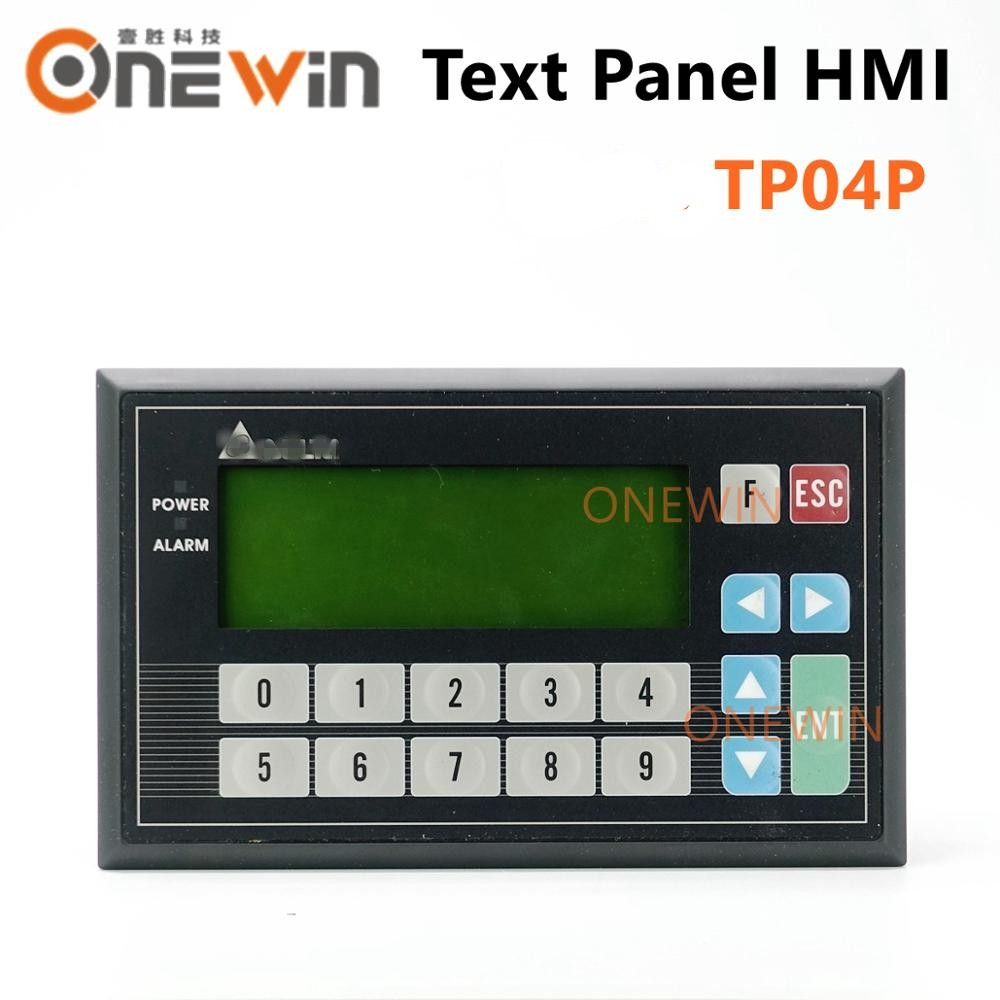 New And Original TP04P-16TP1R TP04P-32TP1R TP04P-22XA1R TP04P-21EX1R Text Panel HMI With Built-in PLC